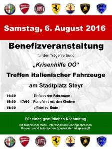 Benefiz-Fest 2016
